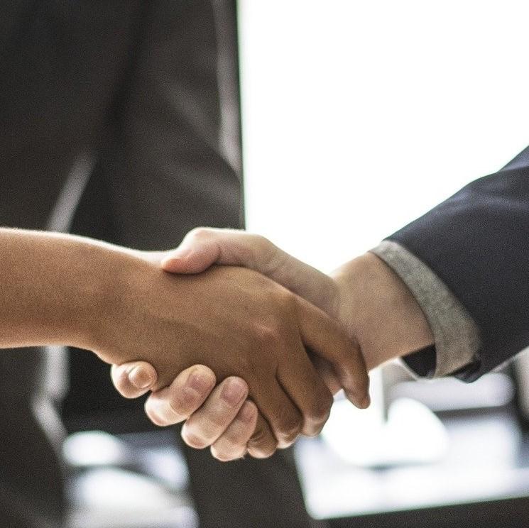 Handshake Grafik